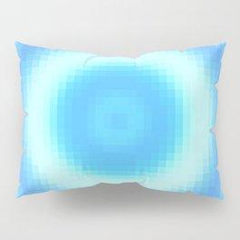 Ripple V Pixelated Pillow Sham