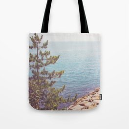Ocean Beyond the Shore Tote Bag