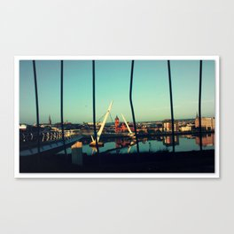 Between the Bars Canvas Print