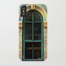 Law Office iPhone Case