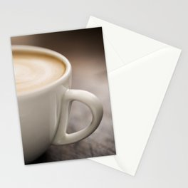 Creamy Coffee Stationery Cards