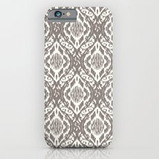 Damask Ikat : Taupe Slim Case iPhone 6