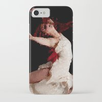 dancer iPhone & iPod Cases featuring Dancer by Vetii