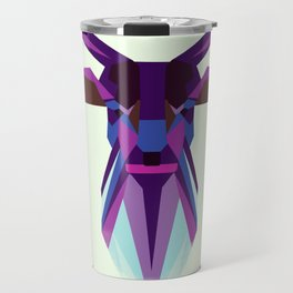 Deer, Owl and Wolf Travel Mug