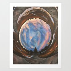 Sky's Eye Art Print