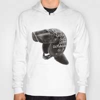 watchmen Hoodies featuring Quis custodiet ipsos custodes? by Lime