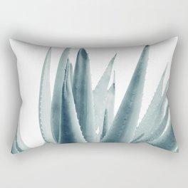 Agave Blue Vibe #1 #tropical #decor #art #society6 Rectangular Pillow
