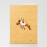 aries Stationery Cards featuring Aries by Giuseppe Lentini