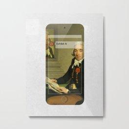 Exhibit A (MetaPhone) Metal Print