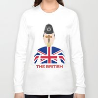 british flag Long Sleeve T-shirts featuring The British by Dano77