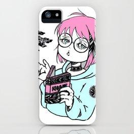 Anime girl Otaku iPhone Case