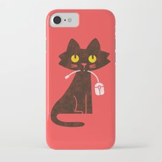 Fitz - Hungry hungry cat (and unfortunate mouse) Slim Case iPhone 7