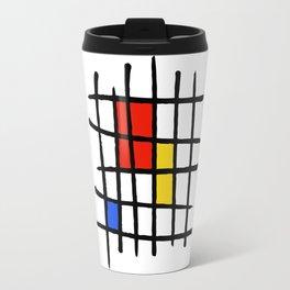 Naive - Nearly Piet almost Mondrian Travel Mug