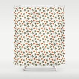 Hedgehog Scatter Shower Curtain