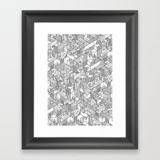 UNHABITATS Framed Art Print