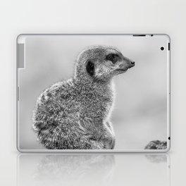 Meerkat (Black and White) Laptop & iPad Skin