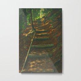 Stairway to Solitude Metal Print