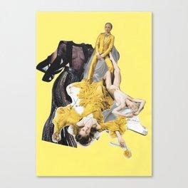Tease Canvas Print