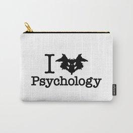 I Heart (Rorschach Inkblot) Psychology Carry-All Pouch
