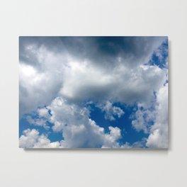 Clouds Rolling In Metal Print