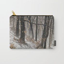Winter at the park Carry-All Pouch