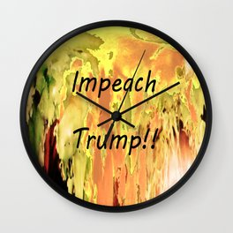 Impeach Trump! Wall Clock