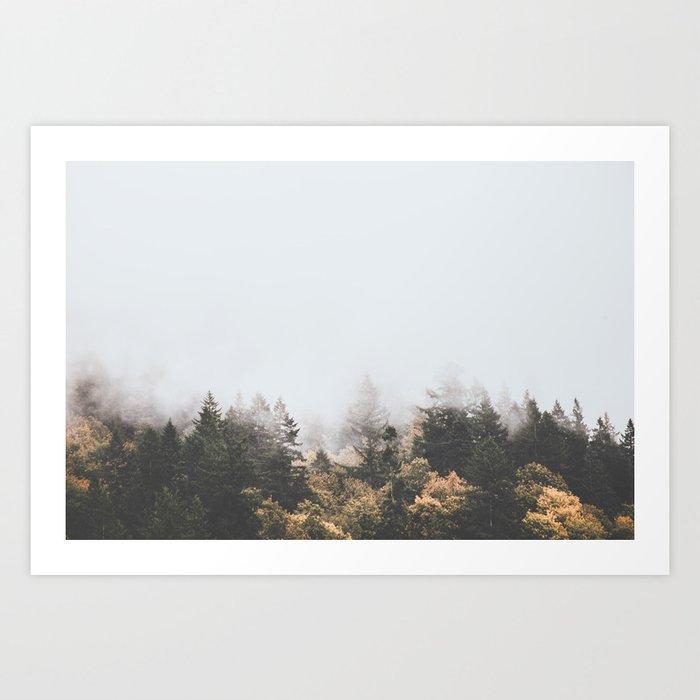 Oregon Art Print