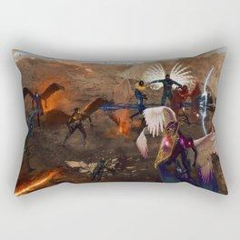 War in Heavens Rectangular Pillow