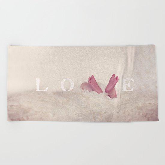Baby Love Beach Towel