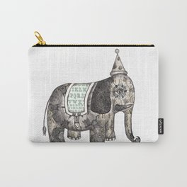 Victorian Circus Elephant Carry-All Pouch