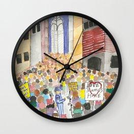 New York City March 2017 Wall Clock