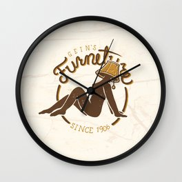 Gein's Family Furniture Wall Clock