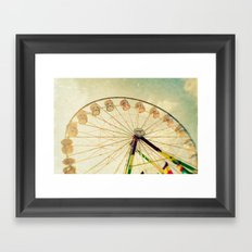 funtastic wheel Framed Art Print