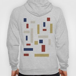 Abstract Theo van Doesburg Composition VIII (White) The Three Graces Hoody