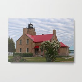Old Mackinac Point Lighthouse Metal Print