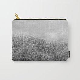 Beach grass - black and white Carry-All Pouch