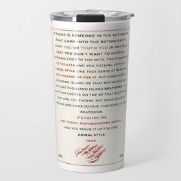 Animal Style MFM Travel Mug