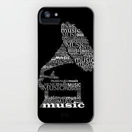 Invert gramophone iPhone Case