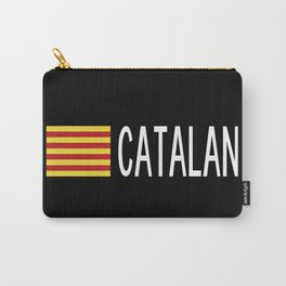 Catalunya: Catalan Flag & Catalan Carry-All Pouch