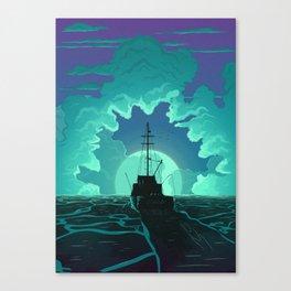 Bigger Boat Canvas Print