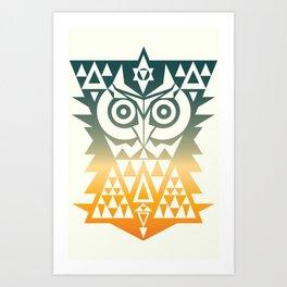TRIANGOWL Art Print