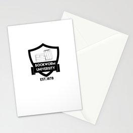 Bookworm University since 1878 Stationery Cards