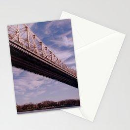 Queensboro Bridge in New York City Stationery Cards