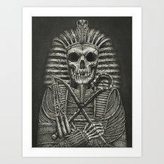 Sarcophagus Art Print