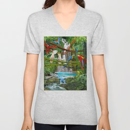 Enchanted Jungle Unisex V-Neck