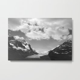 Columbia Icefield in Canada Metal Print