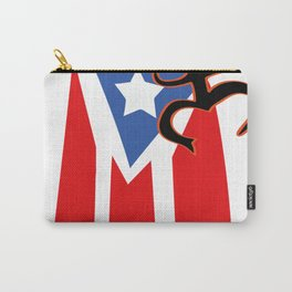 Mi bandera, Puerto Rico Carry-All Pouch