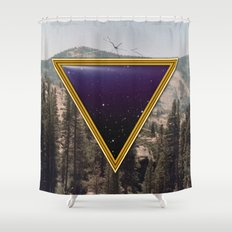 Space Frame Shower Curtain