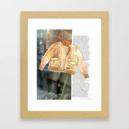 Street Style Framed Art Print