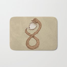 Infinite Tea Bath Mat